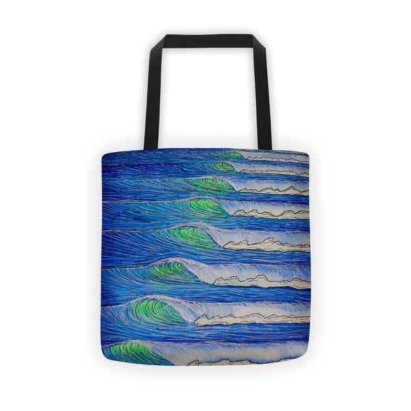 Totally Tubular Tote bag