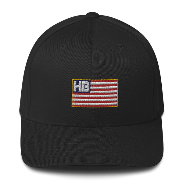 HB Flag Flexfit Structured Twill Cap