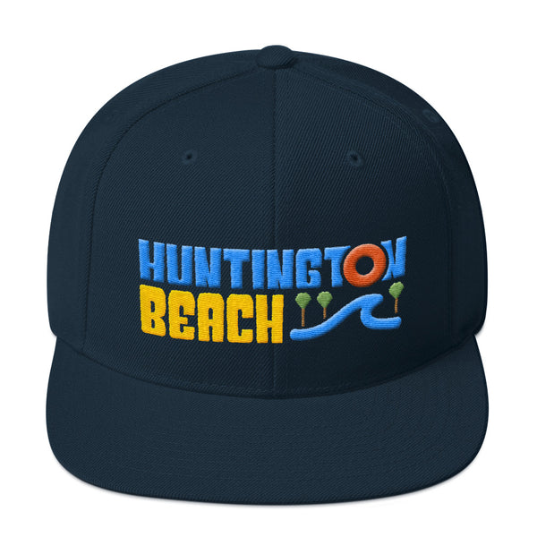 Huntington Beach Snapback Hat
