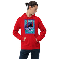 Fireworks Over the Huntington Beach Pier Unisex Hoodie