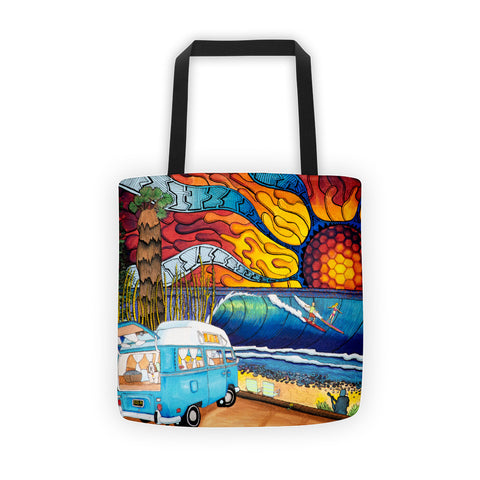 Gus the Bus 71 Tote bag