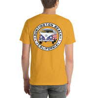 Patriotic Bus - Small Chest Logo Large Back Logo