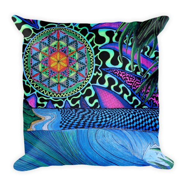 Sun of Life Pillow