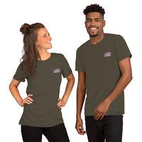 Freeddom Riders on Back Short-Sleeve Unisex T-Shirt