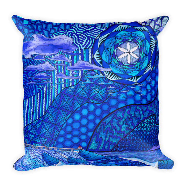Moody HB Blues Square Pillow