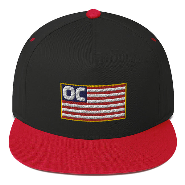 OC Flag Flat Bill Hat