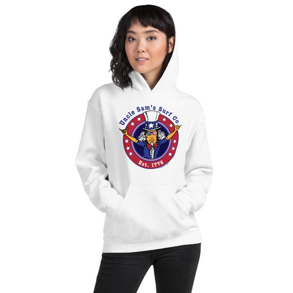 Uncle Sam's Surf Co Unisex Hoodie