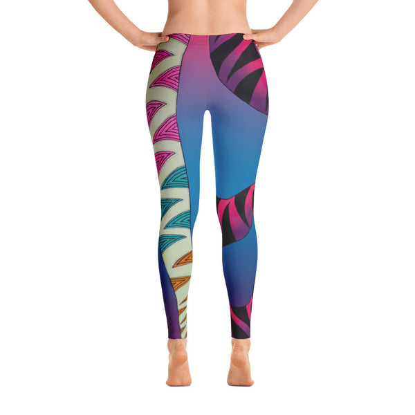Wave Trip V2 Leggings