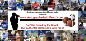 www.AutographedwithProof.com | Authentic MLB Baseball Autographed Sports Collectibles and Memorabilia with Proof Photo of Signing