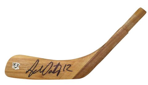Hockey Stick Blades-Autographed - Adam Oates Signed Anaheim Ducks Hockey Stick Blade, Proof
