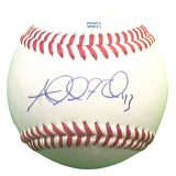 Baseballs-Autographed- Addison Reed Signed ROLB1 Rawlings Baseball, Proof Photo - Minnesota Twins- Chicago White Sox- 401