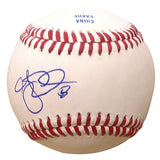 Baseballs-Autographed- A.J. Ellis Signed ROLB1 Rawlings Baseball, Proof Photo -San Diego Padres- Los Angeles Dodgers - 101