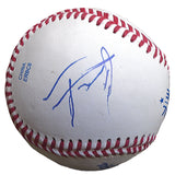 Baseballs- Autographed- Alex Jackson Signed Rawlings ROLB1 Baseball, Proof Photo- Seattle Mariners- 101