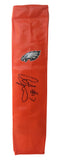 Football End Zone Pylons- Autographed- Alshon Jeffery Signed Philadelphia Eagles TD Pylon Proof