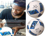 Soccer- Autographed- Andrew Farrell Signed MLS Soccer Ball, Proof Photo- New England Revolution Collage 1