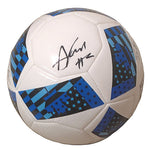 Soccer- Autographed- Andrew Farrell Signed MLS Soccer Ball, Proof Photo- New England Revolution 101