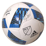 Soccer- Autographed- Andrew Farrell Signed MLS Soccer Ball, Proof Photo- New England Revolution 102