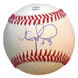Baseballs- Autographed- Anthony Ranaudo Signed Rawlings ROLB1 Baseball Proof Photo - Chicago White Sox - Texas Rangers- 201
