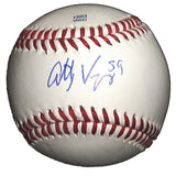 Baseballs- Autographed- Anthony Vasquez Signed Rawlings ROLB1 Baseball, Proof Photo- Detroit Tigers - Seattle Mariners - 101