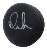 Anton Lander Autographed Hockey Puck, Edmonton Oilers, Proof Photo