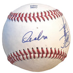 Baseballs- Autographed- Atsunori Inaba Signed Rawlings ROLB1 Baseball, Proof Photo- Yakult Swallows- 102