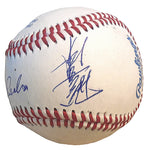 Baseballs- Autographed- Atsunori Inaba Signed Rawlings ROLB1 Baseball, Proof Photo- Yakult Swallows- 101