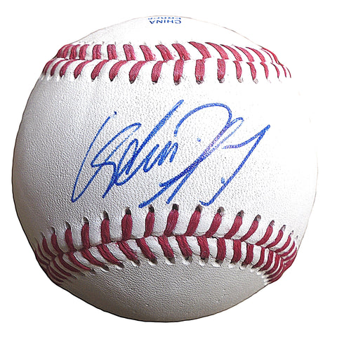 Baseballs- Autographed- Avisail Garcia Signed Rawlings ROLB1 Baseball- Proof Photo- Detroit Tigers- Chicago White Sox- 101