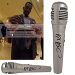 Hollywood-Autographed - Comedian Bill Bellamy Signed Pyle Full Size Microphone, Proof Photo Collage 1