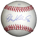 Baseballs- Autographed- Blake Hawksworth Signed Rawlings ROLB1 Baseball, Proof- Los Angeles Dodgers- St Louis Cardinals- 101