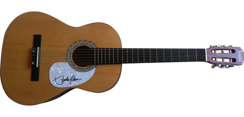 "Guitars- Autographed- Brooke Eden Signed Full Size 39"" Country Music Acoustic Guitar, Proof Photo"