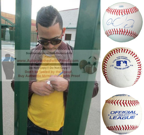 Baseballs- Autographed- Carlos Gonzalez Signed Rawlings ROLB1 Baseball, Proof- Colorado Rockies- Seattle Mariners-  Collage 4