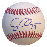 Casey Coleman Autographed Rawlings ROLB1 Baseball, Houston Astros, Kansas City Royals, Proof Photo