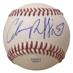 Baseballs- Autographed- Chance Ruffin Signed Rawlings ROLB1 Baseball Proof Photo- Seattle Mariners- Detroit Tigers - 301
