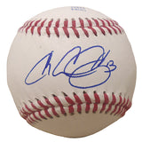 Baseballs- Autographed- Chris Colabello Signed Rawlings ROLB1 Baseball Proof Photo- Toronto Blue Jays- Minnesota Twins - 101