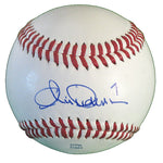 Baseballs-Autographed - Chris Dickerson Signed Rawlings ROLB1 Leather Baseball, Proof Photo- New York Yankees- Milwaukee Brewers- 201