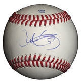 Baseballs- Autographed- Chris Gimenez Signed Rawlings ROLB1 Leather Baseball- Tampa Bay Rays- Texas Rangers- Proof Photo- 101