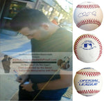 Baseballs-Autographed - Chris Heston Signed Rawlings ROLB1 Leather Baseball, Proof Photo- Minnesota Twins- San Francisco Giants- Collage 2