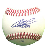Baseballs- Autographed- Chris Perez Signed Rawlings ROLB1 Leather Baseball - Proof Photo- Los Angeles Dodgers - Cleveland Indians - 501