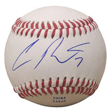 Baseballs-Autographed - Cliff Pennington Autographed Rawlings ROLB1 Leather Baseball, Proof Photo- Los Angeles Angels- Cincinnati Reds - 201