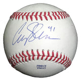 Baseballs-Autographed - Colby Shreve Signed Rawlings ROLB1 Leather Baseball, Proof Photo- Philadelphia Phillies- 101