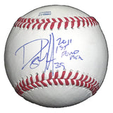 Baseballs-Autographed - Danny Hultzen Signed Rawlings ROLB1 Leather Baseball W/ Inscription, Proof- Seattle Mariners- Chicago Cubs- 101