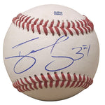 Baseballs-Autographed - Darnell Sweeney Signed Rawlings ROLB1 Leather Baseball, Proof Photo- Pittsburgh Pirates- Los Angeles Dodgers- 101