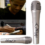 Microphones-Autographed - David Aldridge Signed Pyle Full Size Microphone, Proof Photo - ESPN - NBA on TNT - Collage 1