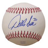 Baseballs-Autographed - Dillon Gee Signed Rawlings ROLB1 Leather Baseball, Proof Photo- New York Mets- Texas Rangers- 101