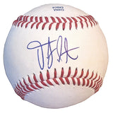 Baseballs-Autographed - D.J. Peterson Signed Rawlings ROLB1 Leather Baseball, Proof Photo- Cincinnati Reds - Seattle Mariners- 201