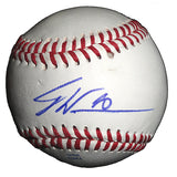 Baseballs-Autographed - Dontrelle Willis Signed Rawlings ROLB1 Leather Baseball, Proof Photo- Cincinnati Reds- Miami Marlins- 201