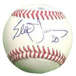 Baseballs-Autographed - Elliot Johnson Signed Rawlings ROLB Leather Baseball, Proof Photo - Tampa Bay Rays - Cleveland Indians - 101