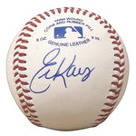 Baseballs-Autographed - Eric Karros Signed Rawlings ROLB1 Leather Baseball, Proof Photo- Los Angeles Dodgers- Chicago Cubs- 101