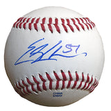 Baseballs-Autographed - Erik Cordier Signed Rawlings ROLB Leather Baseball, Proof Photo - San Francisco Giants - Miami Marlins - 101
