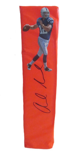 Football End Zone Pylons- Autographed- Andrew Luck Signed Indianapolis Colts TD Pylon PSA/DNA